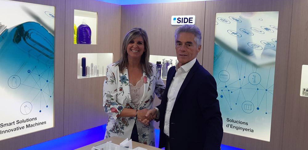 Acuerdo comercial entre ALPHAMAC & SIDE S.A.