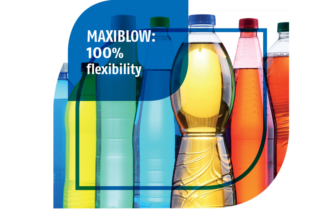 MAXIBLOW: 100% flexibility