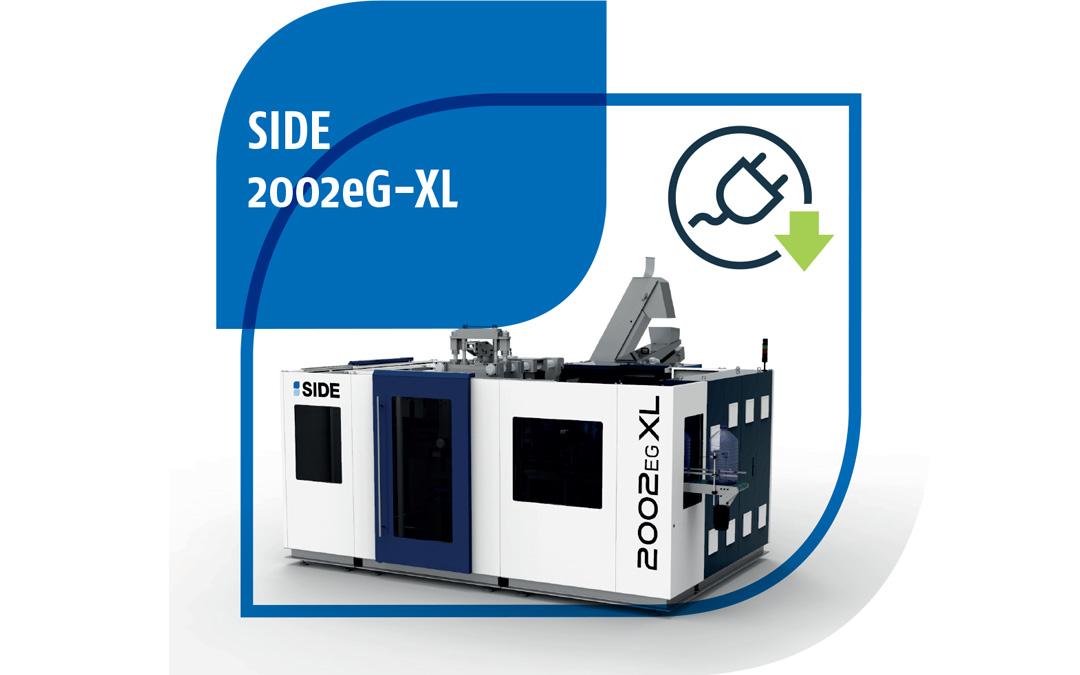 Envases 5 G one way. Nueva sopladora SIDE-2002eG-XL